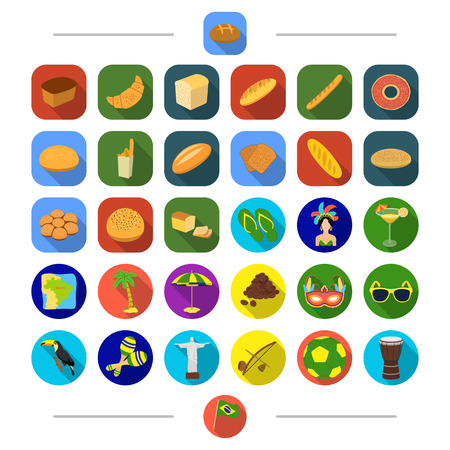 Tourism, leisure, food and other web icon in cartoon style. Flag, drum, sport, icons in set collection.