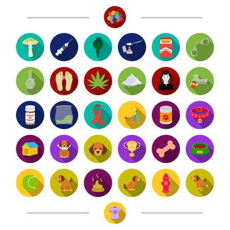 encendedores: Muerte, clínica, animal y otro icono de la web en estilo de dibujos animados. Columna, adicción, prisión, iconos en conjunto colección.