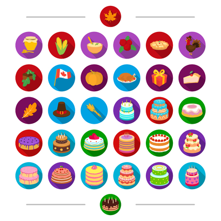 Canada, nature, cooking and other web icon in cartoon style . Attributes, products, holiday, icons in set collection.