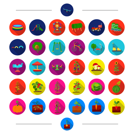 rulos: Vitamins, entertainment, games and other web icon in cartoon style. Vegetables, fruits, berries icons in set collection.