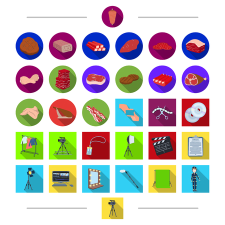 dryer: Shooting, cinematography, products and other web icon in cartoon style. Man, tools, cinema icons in set collection.