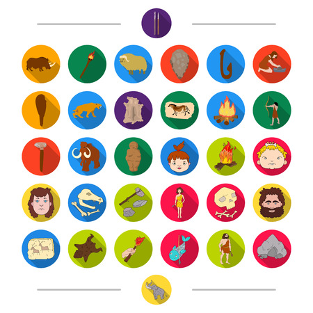 Evolution, animals, nature and other web icon in cartoon style. Antiquity, century, history icons in set collection.
