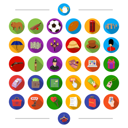 Building, sports, tourism and other  icon in cartoon style. Discount, advertisement, business, icons in set collection