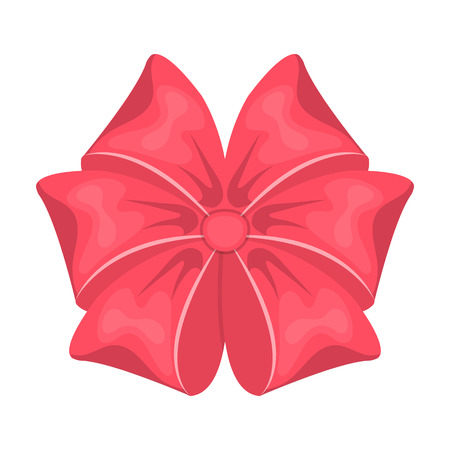 pink satin: Bow, ribbon, decoration, and other web icon in cartoon style. Textile, decor, gift, icons in set collection.