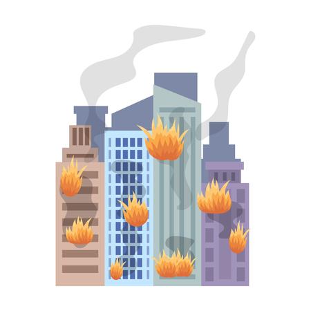 City, single icon in cartoon style.City, vector symbol stock illustration .
