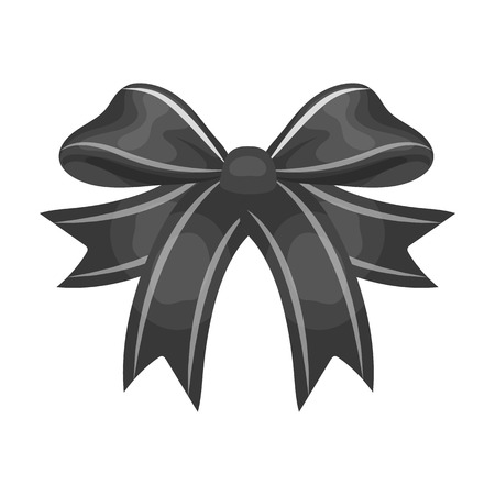 Node, ornamentals, frippery, and other web icon in monochrome style.Bow, ribbon, decoration,