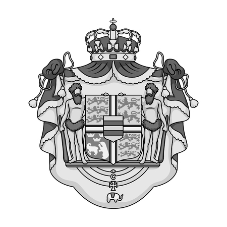 Arms, single icon in monochrome style.Arms, vector symbol stock illustration web.