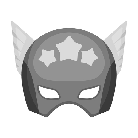 Helmet, single icon in monochrome style.Helmet, vector symbol stock illustration web.