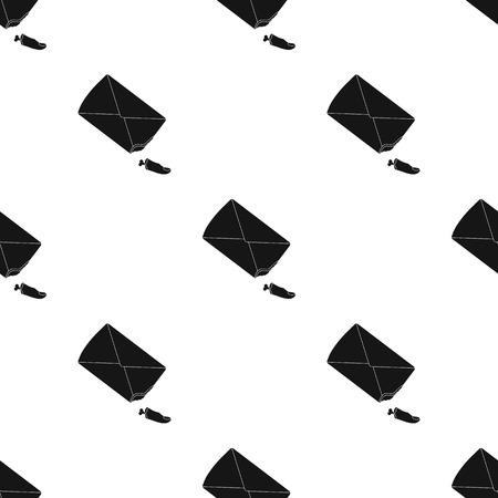 Amputated finger in black style vector symbol stock illustration web. Illustration