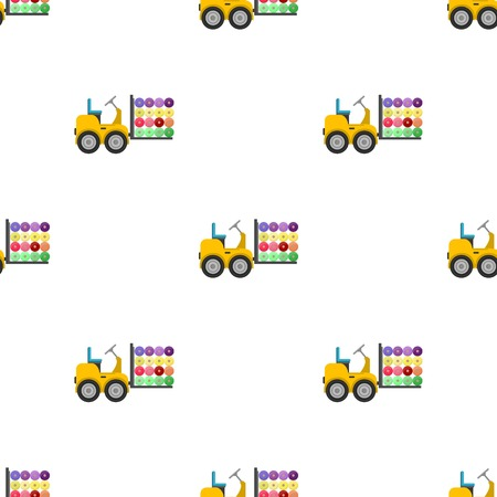 Machine, één pictogram in cartoon stijl. Machine vector symbool stock illustratie web.