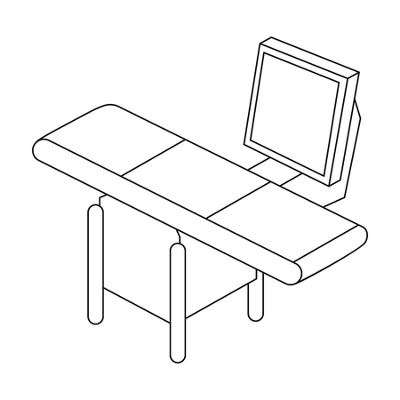 Steuerung, einzelne Ikone in der Entwurfsart Steuerung, Vektorsymbolvorrat-Illustrationsnetz.