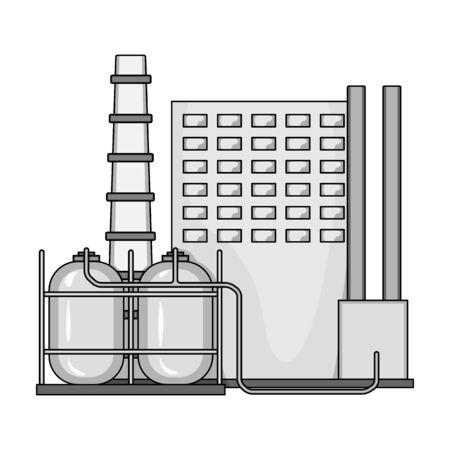 Plant single icon in monochrome style.Plant, vector symbol stock illustration web.
