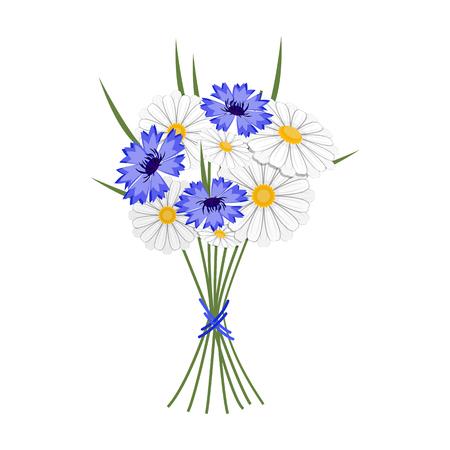 Un bouquet de fleurs fraîches unique icône en style cartoon pour la conception. Bouquet vecteur symbole stock illustration web.