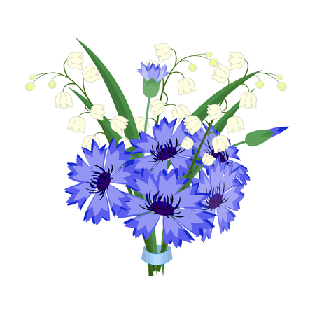 A bouquet of fresh flowers single icon in cartoon style for design. Bouquet vector symbol stock illustration web.