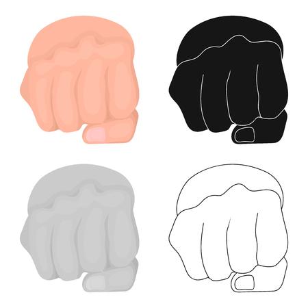 Sign single icon in cartoon style.Sign vector symbol stock illustration web. Иллюстрация