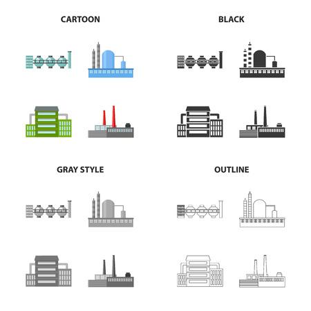 Power plants icon.