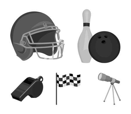 Sport set collection icons