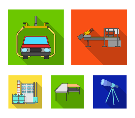 New technologies icons in set collection. Illustration
