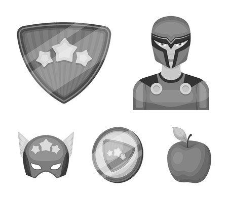 Costume icons in set collection.