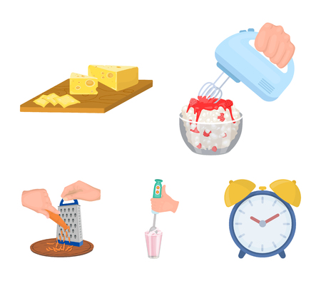 Jam, diet, accessories and other web icon in cartoon style.cook, equipment, appliance, icons in set collection.