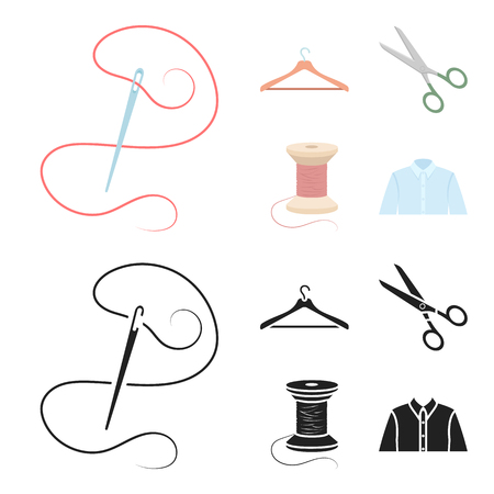 Atelier set collection icons in cartoon,black style vector symbol stock illustration web.