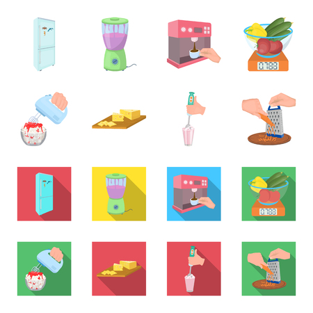 , jam, diet, accessories and other web icon in cartoon,flat style.cook, equipment, appliance, icons in set collection.