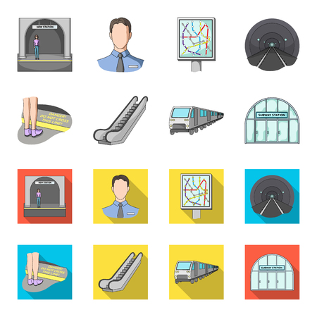 Electric, transport, equipment and other web icon in cartoon,flat style. Public, transportation, machinery icons in set collection.