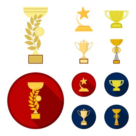 Gold Cup icons in set