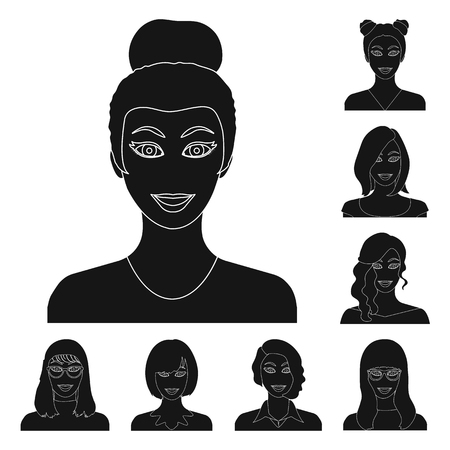 Avatar profile image illustration