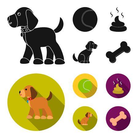 Dog set collections image illustration Çizim