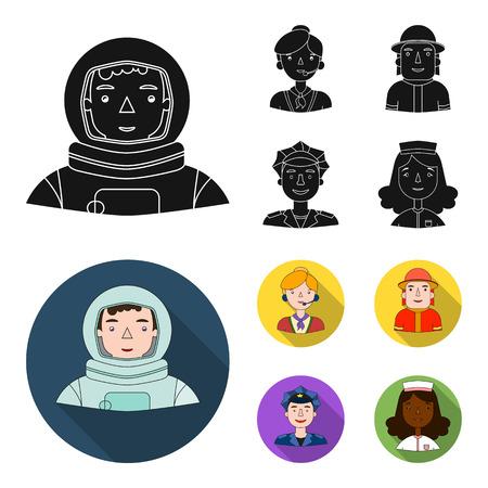 Ilustración de imagen de diferentes profesiones