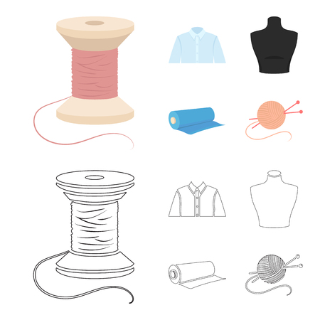 Atelier set collection illustration