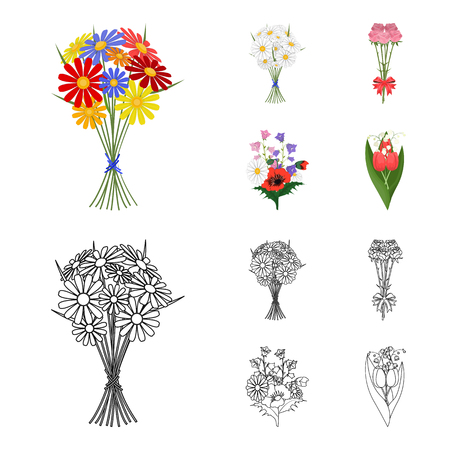 Fresh flowers image illustration