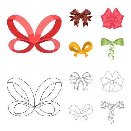 Ribbon image illustration