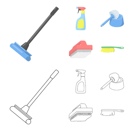 Equipment for cleaning image illustration
