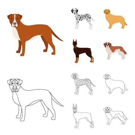 Dog pet image illustration