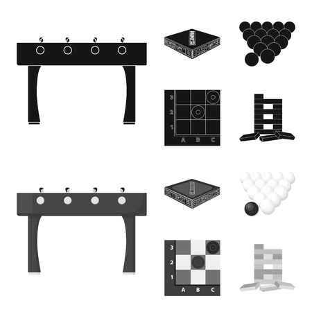Board game black,monochrom icons in set collection for design. Game and entertainment vector symbol stock  illustration.