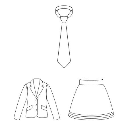 옷의 종류는 디자인에 대 한 설정된 컬렉션에 아이콘을 설명합니다. 옷과 스타일 벡터 기호 재고 웹 일러스트 레이 션 스톡 콘텐츠 - 98404402