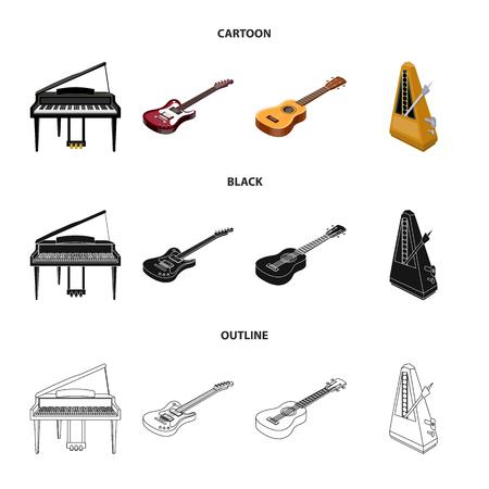 String and Wind instrument isometric vector symbol stock illustration Illustration