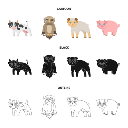 Forest, ecology, toys and other web icon in cartoon,black,outline style.Animals, farm, enterprises icons in set collection.
