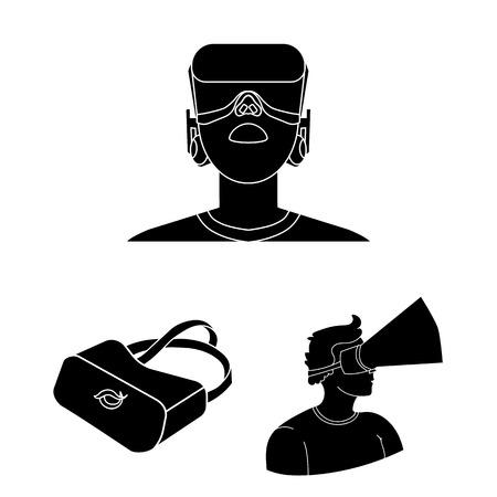 Modern technology and equipment vector symbol stock illustration.