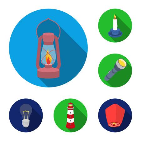 Licht en apparatuur vector symbool stock illustratie. Stock Illustratie