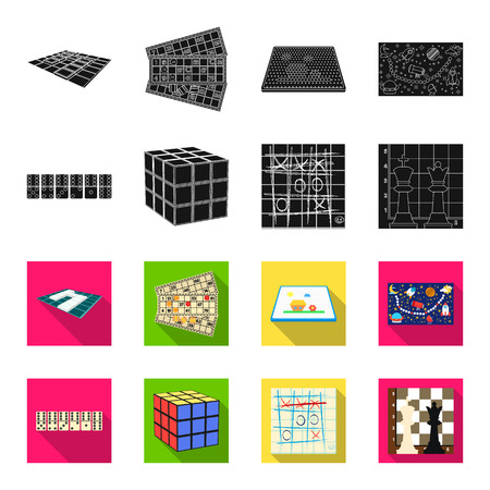 Game and entertainment icon set collection design