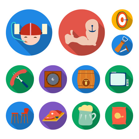 Pub icons set collection
