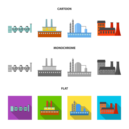 Industry, production.Factory set collection icons in cartoon,flat,monochrome style vector symbol stock illustration web.