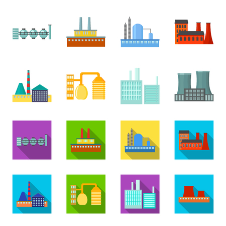 Industry, production.Factory set collection icons in cartoon,flat style vector symbol stock illustration web.