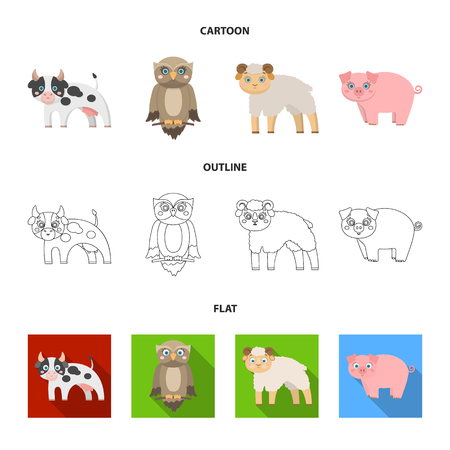 Forest, ecology, toys and other icon in cartoon, outline, flat style. Animals,  enterprises icons in set collection