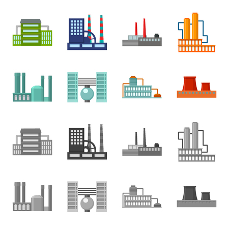Industry, production.Factory set collection icons in cartoon,monochrome style vector symbol stock illustration web.