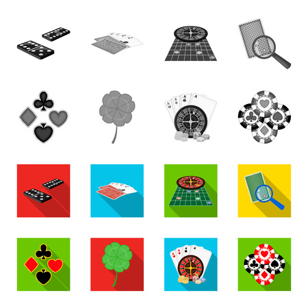 Excitement, casino, game and other web icon in monochrome,flat style. Cheating, entertainment, recreation, icons in set collection.