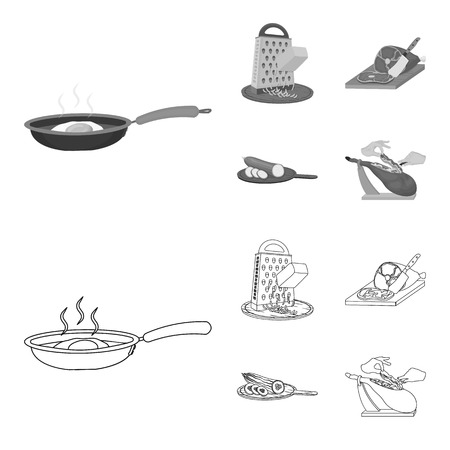 treat, appliance, tool and other web icon in outline,monochrome style.cook, housewife, hands icons in set collection.